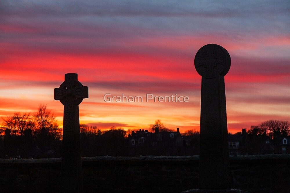 Sunset at Durham Cathedral by Graham Prentice