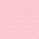 «Estampado de zebra - malvavisco rosa» de SilverPegasus