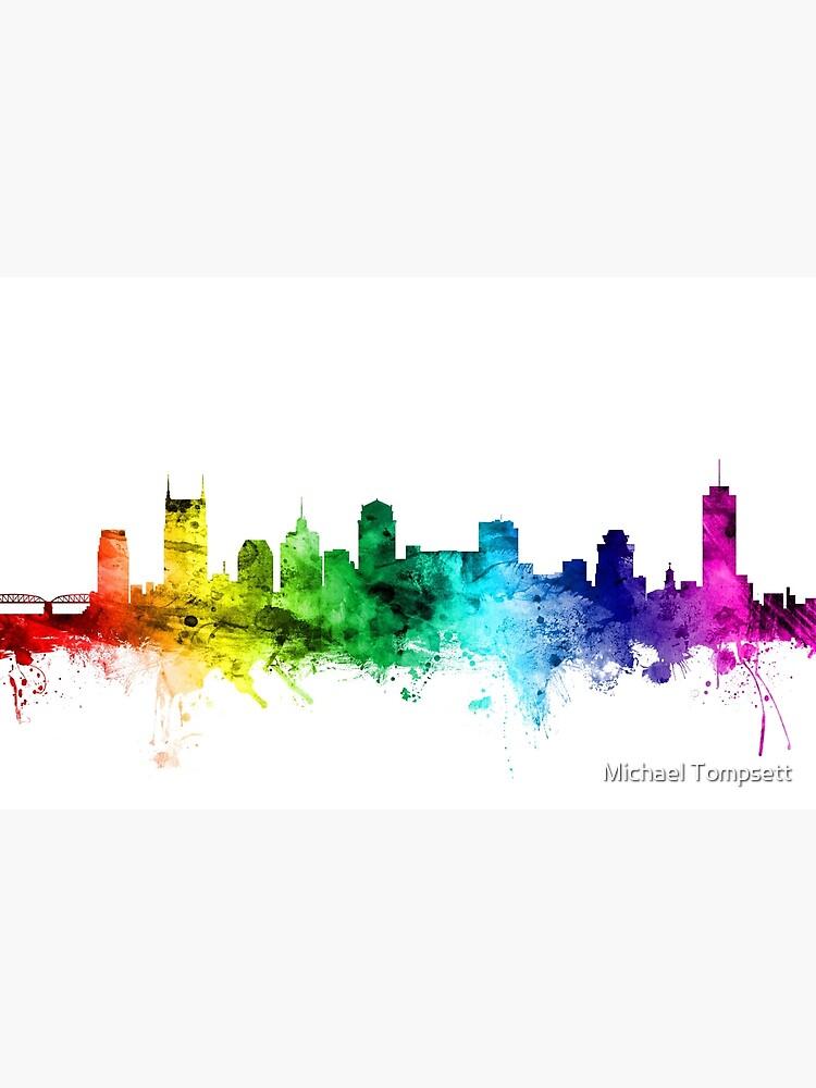 Nashville Tennessee Skyline von ArtPrints