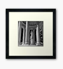 Necropolis on the Hill Framed Print