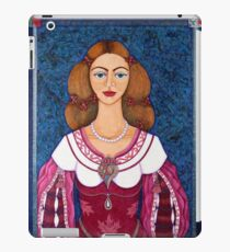 Ines de Castro - The love crowned iPad Case/Skin