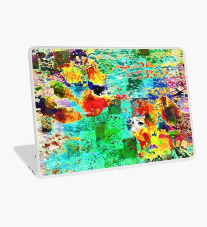 Paw Prints Tummy Rub Laptop Skin