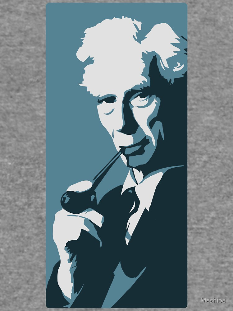 Bertrand Russell (blau) von Mashiba