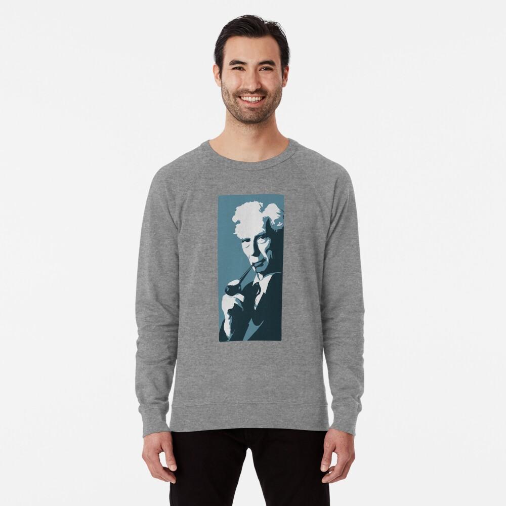 Bertrand Russell (blau) Leichter Pullover