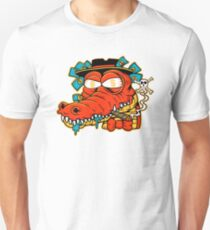 Taxes Crocodile - designed by Joe Tamponi Unisex T-Shirt