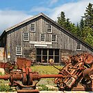 Royal Oak Stamp Mill, Sherbrooke by Amanda White