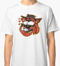 Loving cat - designed by Joe Tamponi Classic T-Shirt