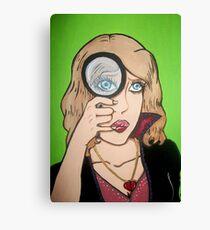 Broken Hearted Detective Canvas Print
