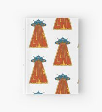 Love Ufos! - designed by Joe Tamponi Hardcover Journal