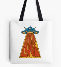 Love Ufos! - designed by Joe Tamponi Tote Bag