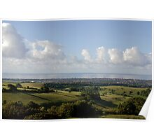 The South Downs Poster