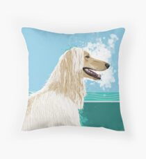 A is for Afghan Throw Pillow