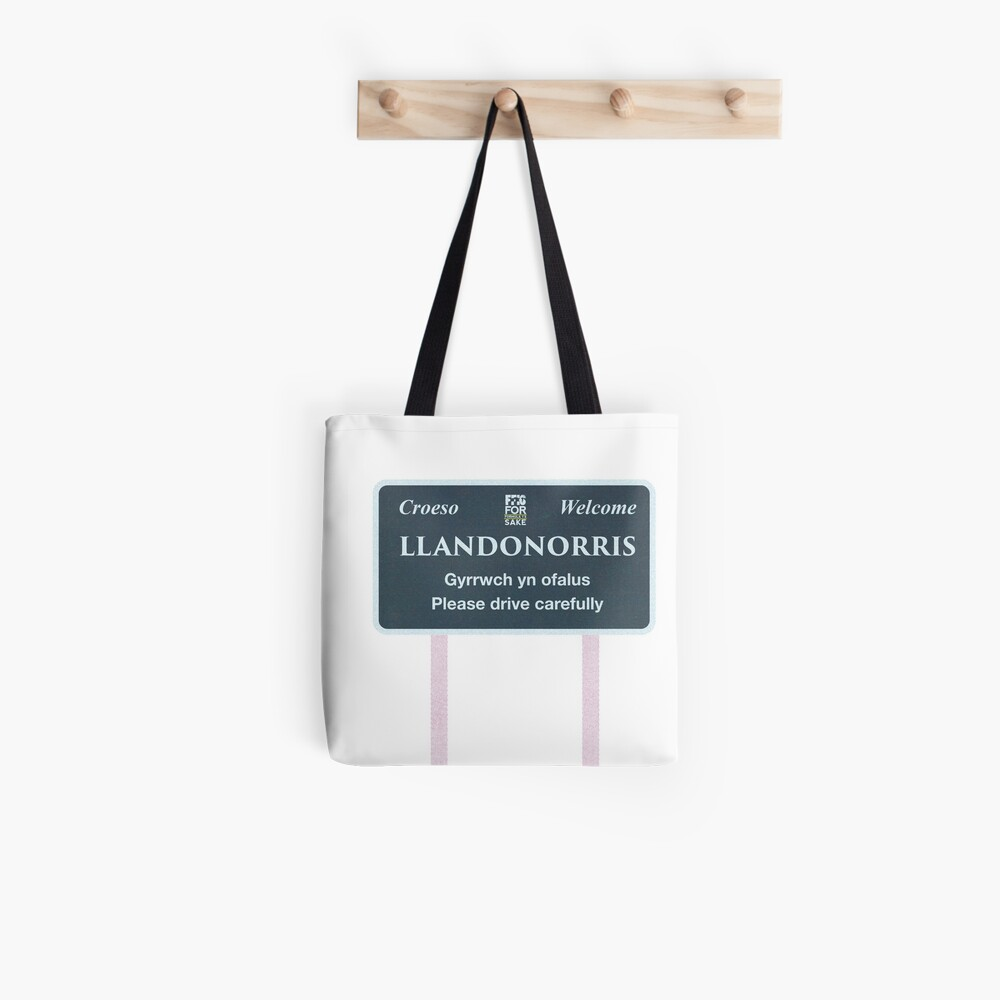 FF1S - Welcome to Llandonorris Tote Bag