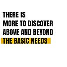 There is more to discover above and beyond the basic needs by Aydin Habibi