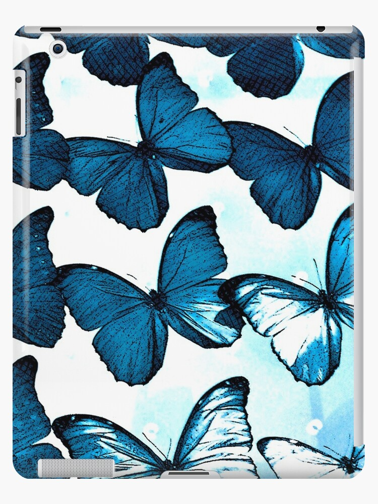 Blue Butterflies by Ludwig Wagner