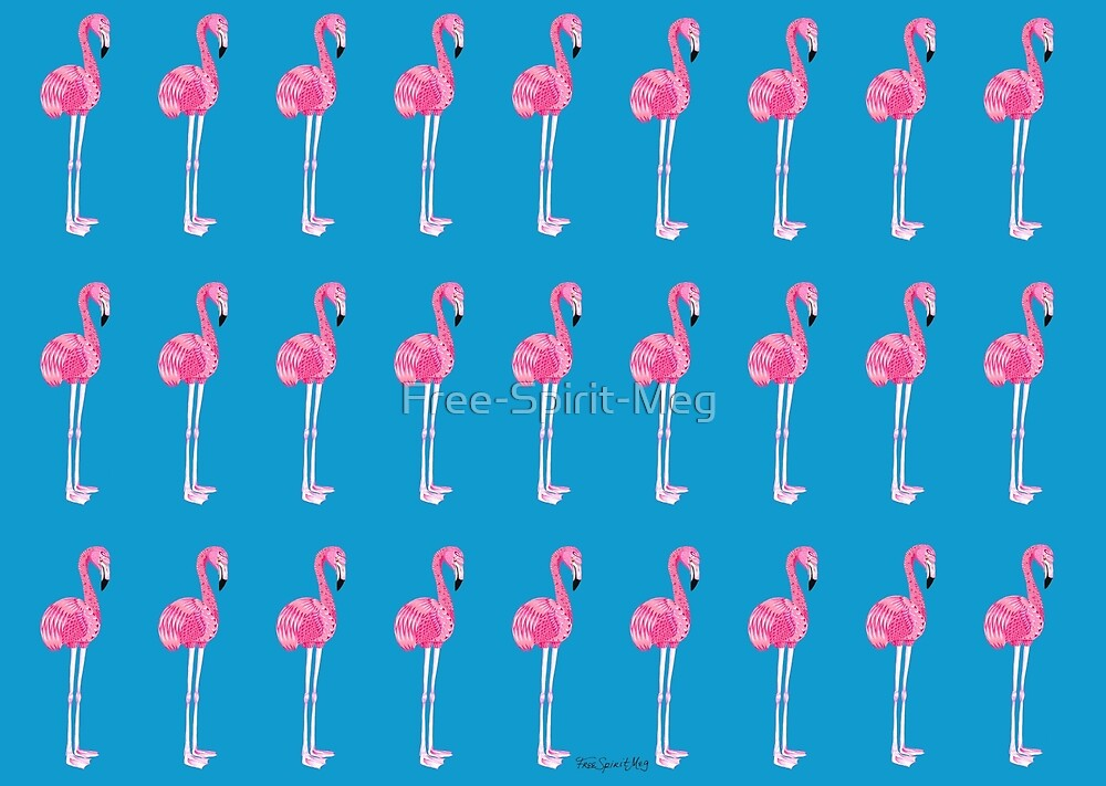Flamingo Pattern by Free-Spirit-Meg
