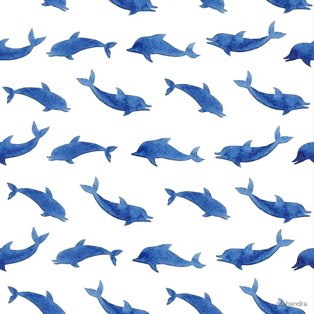 Delphin-Muster\