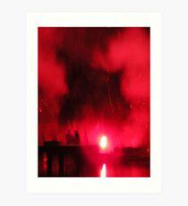 the inferno Art Print