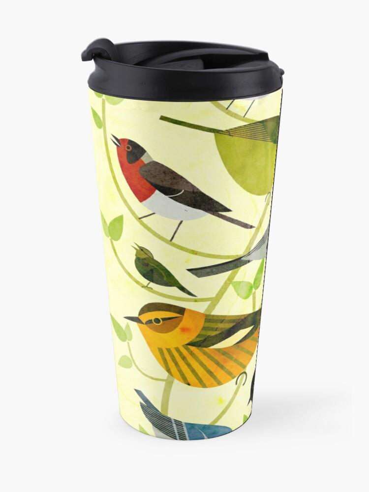 Alternate view of New World Warblers 2 Travel Mug