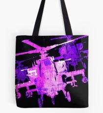 Apache Helicopter Tote Bag