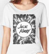Jack Kriby Krackle! Women's Relaxed Fit T-Shirt