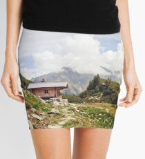 The Hut in the Mountains Mini Skirt