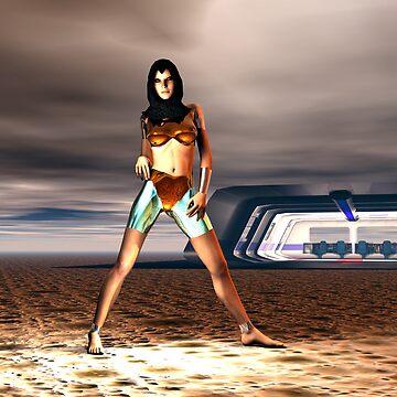Cyborg.......... Kyle Z101........... by Godwin