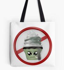 rauchendes Cupcake Emoticon Tote Bag