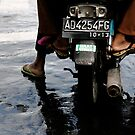 Three on a Bike, Yogyakarta by Ashlee Betteridge