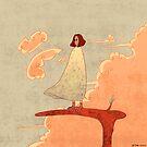 Vogel im Himmel von Pema Horeau
