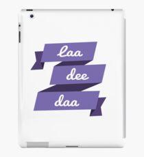 Laa Dee Dah iPad Case/Skin