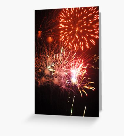 Fireworks! (2) Rockets' Red Glare Greeting Card