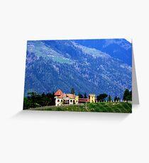 Meran II. South Tirol. Greeting Card