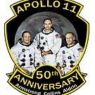 NASA Apollo 11 Anniversary Armstrong Collins Aldrin by Jim Plaxco
