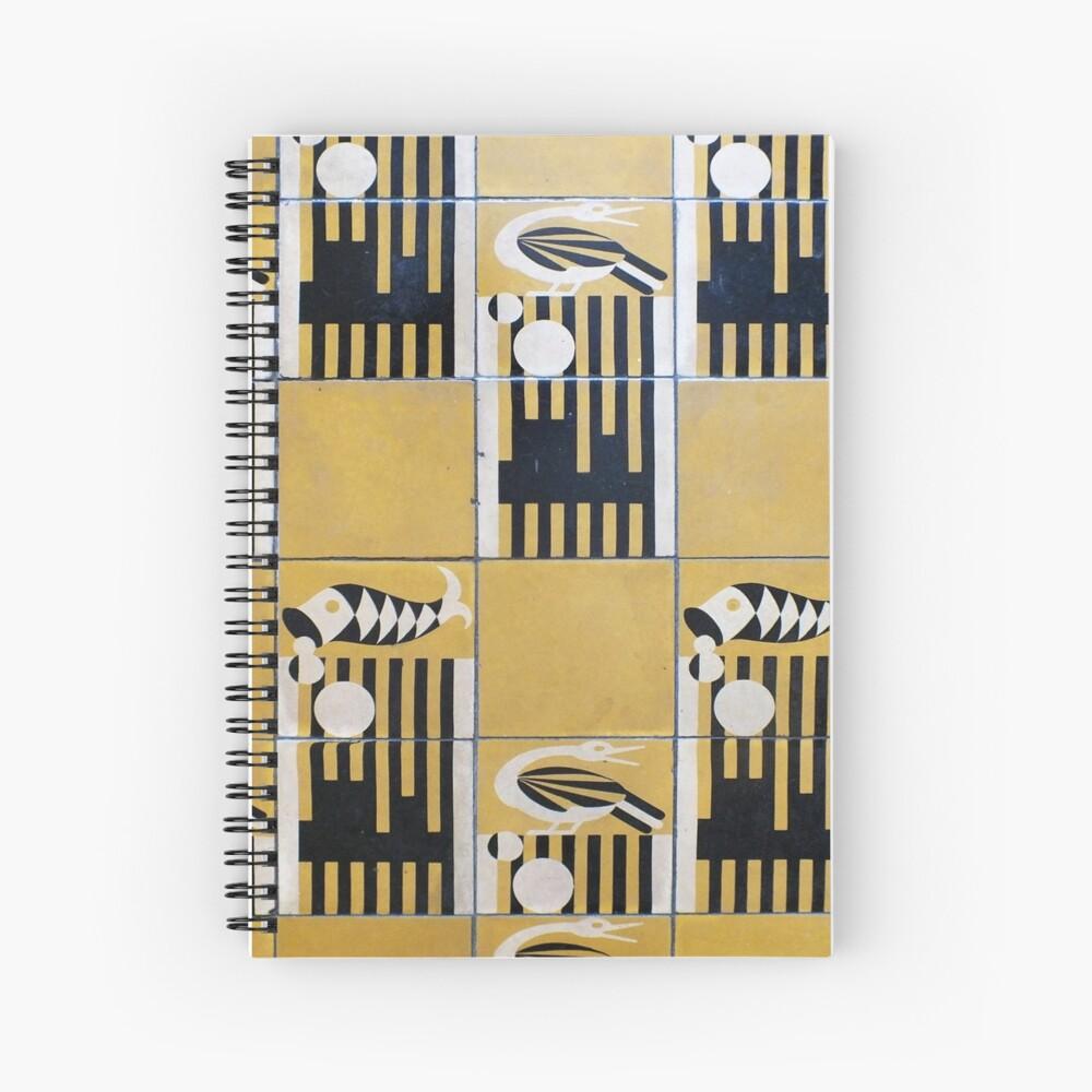 Hemingway House Bathroom, Key West Spiral Notebook