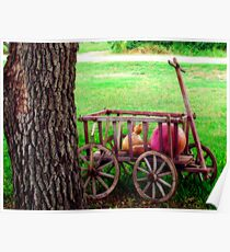 Gourd Wagon Poster