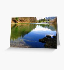 Lake Riessersee 06 Greeting Card