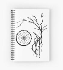 Cuaderno de espiral Floración