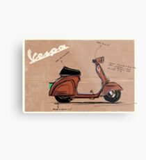 Scoot_illustration Metal Print
