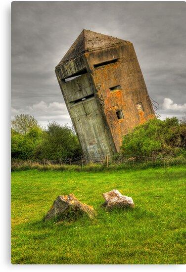 Atlantic Wall Commando Tower by Hans Kool