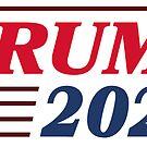 80er Jahre inspiriert Trump 2020 von Royal Sass
