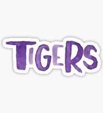 Tigers Watercolor Sticker