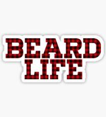 BEARD LIFE Sticker