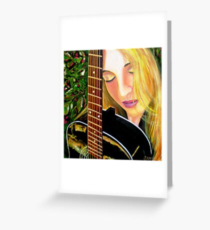 SOUL SISTER - Little Archies Exhibition 29/8/10 Greeting Card