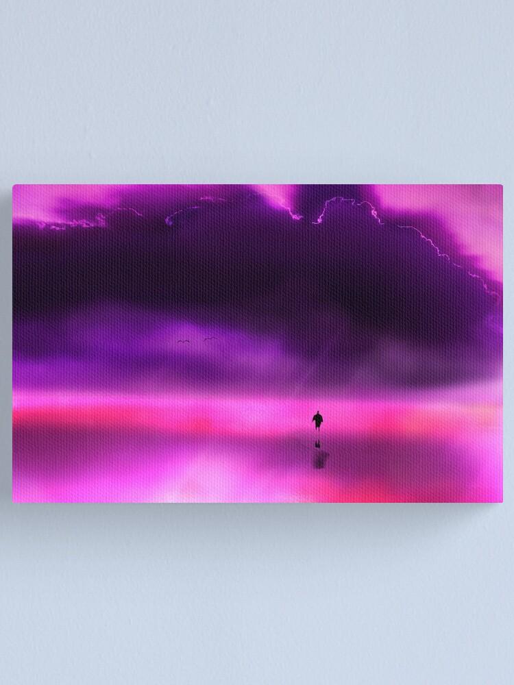 Alternate view of L I F E  Canvas Print