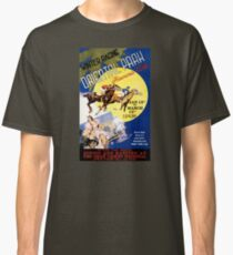 Havana Horse Racing Vintage Travel Poster Restored Classic T-Shirt