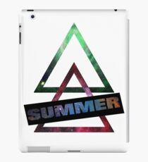 Summer and Triangles iPad Case/Skin