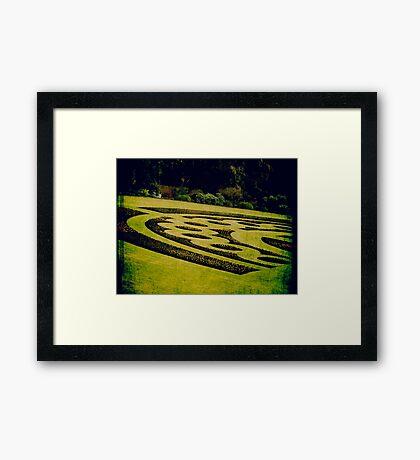 Sanitorium Framed Print