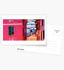 Pink walls Postcards