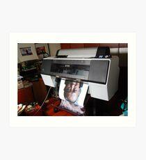Epson 7900 printer Art Print